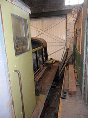 May in the Goods Shed (DerekTP) Tags: diesel may railway locomotive swanage fowler goodsshed 4210132