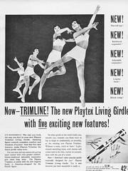 77 1957 (Undie-clared) Tags: living girdle playtex
