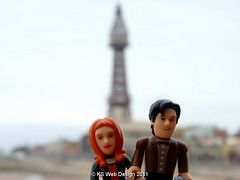 dr and amy at blackpool tower