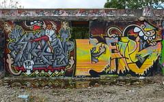 Graffiti Utrecht (oerendhard1) Tags: graffiti streetart urban art grindbak utrecht kk steen kbtr beaps oerendhard