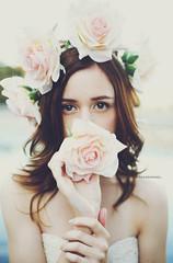 Katrina (Amanda Mabel) Tags: pink flowers roses portrait katrina spring sydney australia headshot dreamy brunette bustier modeltest flowercrown flowergarland naturallightphotography flowerheadpiece amandamabel sydneyfashionphotographer amandamabelphotography katrinathornclarke