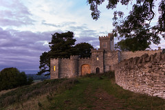 Rodborough Fort at Dusk (njjarvis) Tags: castle canon fort sac lookout severn vale valley common stroud rodborough sssi 60d sigma1020mmf4556exdchsm specialareaofconservation habitatsdirective