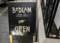 Bedlam, Derry (new folder) Tags: ireland typography lo