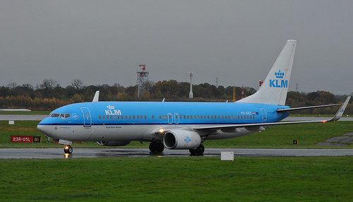 KLM | PH-BXE | Boeing 737-8 | AMS-MAN