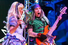 Mad T Party Band (Visions Fantastic) Tags: dca aliceinwonderland dormouse marchhare themadhatter disneyscaliforniaadventure madtparty madtpartyband