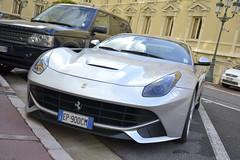 Ferrari F12 Berlinetta (Tiziano Casareto) Tags: winter cars photography ferrari montecarlo monaco tc gt hermitage supercars f12 v12 2014 berlinetta expensivecars carspotting rarecars 18105mm hypercars exclusivecars greyferrari nikond3100 f12berlinetta