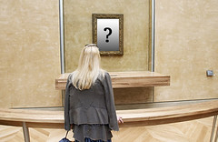 What should go in that frame? (Matthews Gallery) Tags: newmexico santafe southwest art museum artwork media artist gallery artgallery mark contemporaryart contemporary fineart experiment social galleries artists frame question choice collectors artforsale collector southwestern canyonroad artnews matthewsgallery