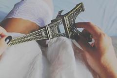 (Juliet in summer) Tags: paris france tower girl torre dress legs frana eiffel pale