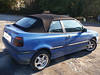 VW Golf III Akustik-Verdeck mit seitlichen Regenrinnen
