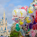 WDW Castle & Balloons