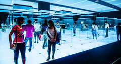 In the Grid at national museum (Phg Voyager) Tags: china leica city light boy people art colors girl grid photography beijing exhibition nationalmuseum lv louisvuitton phgvoyager