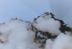 Negative01 (Sophie Teunissen) Tags: light sky sun sunlight clouds wolken rays lucht zon hemel zonlicht negatief zonnestralen stralen