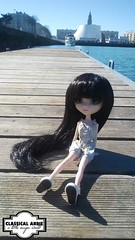 Ma puce, ma ville, ma photo  (Classical Andie) Tags: alice classical pullip roxane