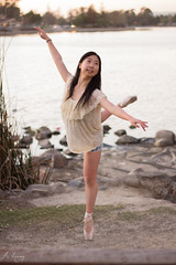 Pointe (Amy Huang Photography) Tags: ballet girl dance photoshoot dancer pointe