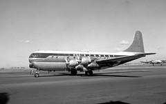 Chicago Midway Airport - Northwest Airlines - Boeing 377 (Stratocruiser) (twa1049g) Tags: northwestairlines 1960 stratocruiser chicagomidwayairport boeing377 n74602