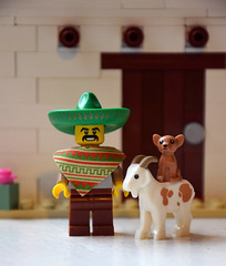 Mexican Adobe House (IamKritch) Tags: house mexico lego mexican adobe