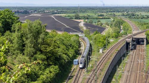 TGV bei Bruchsal