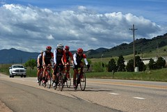 Spring Training (Let Ideas Compete) Tags: road rio togetherness grande colorado group boulder pack biking bikers bicyclists peloton paceline