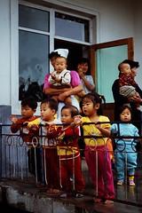 Coopertive farm kindergarten (Frühtau) Tags: people building children asian asia child farm watching north culture visit korea du east teacher korean nurse kindergarten nord cooperative dprk koree nordkorea