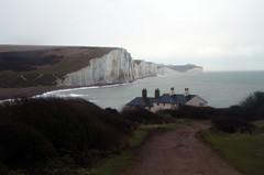 Seven Sisters (amancalledalex) Tags: dawn sussex chalk sevensisters seaford southdowns