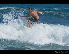 Surfer At Koki Beach - Hana, Maui (Hamilton Images) Tags: canon hawaii surf waves hand surfer january maui surfing hana surfboard 500mm kokibeach 2015 img2470 14xteleconverter 7dmarkii
