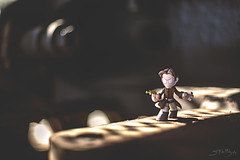 Browncoat (3rd-Rate Photography) Tags: canon toy 50mm florida action serenity figure scifi jacksonville 365 mal firefly funko nathanfillion browncoat toyphotography malcolmreynolds 5dmarkiii earlware 3rdratephotography mysteryminis