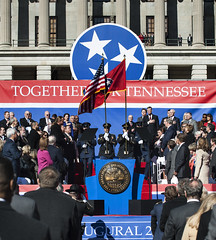 1/17/2015 Governor Bill Haslam is sworn in for his second term as the 49th Governor of Tennessee (Governor Bill Haslam) Tags: usa tn nashville january 2015 secondterm inaugration governorbillhaslam
