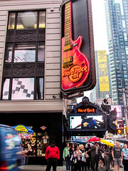 Hard Rock Cafe NYC (NicolasR11) Tags: city nyc usa ny newyork unitedstates centralpark lateshow empirestate eeuu hardrockcafeny