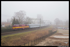 EETC 1254, Hengelo 17-2-2015 (Henk Zwoferink) Tags: db 1200 express alpen 1254 henk hengelo schenker eetc skitrein zwoferink bcmkh