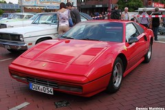 A touch of class (Schwanzus_Longus) Tags: red italy sports car race racecar vintage germany italian fast super ferrari 328 turbo german techno vehicle gto nordenham gtb 288 208 germanyitaly classica oldvintage 288gto 328gtb ferrari288gto
