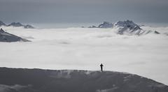Au dessus des nuages (benbrnch) Tags: ski alps alpes val neige montain thorens