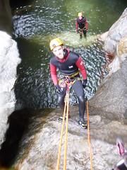 P1120388 (Mountain Sports Alpinschule) Tags: blue mountain sports lagoon canyoning zillertal zemmschlucht alpinschule