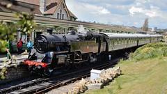 80104 arriving at Swanage (jono85) Tags: heritage train br railway steam locomotive swanage preservation swanagerailway standardtank 80104