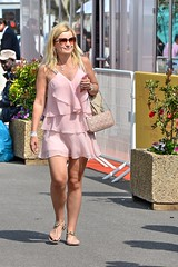 DSE_4623 (ze06) Tags: street woman sexy girl festival glamour dress cannes candid gorgeous blonde minidress croisette