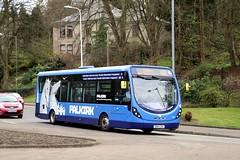 47533 SN64CKA First Midland Bluebird (busmanscotland) Tags: max wheel df first wright bluebird midland cka streetlite 47533 falkikr sn64 sn64cka kelipes