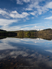 Perfect symmetry (pauls1502) Tags: sky clouds reflections landscape mirror scotland nikon sigma loch stillness scottishhighlands lochard kinlochard