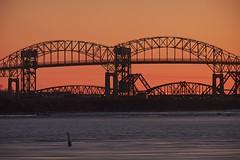 sunset, st. marys river (twurdemann) Tags: longexposure bridge sunset water spring saultstemarie stmarysriver unitedstatesborder nikcolorefex canadaborder skylightfilter procontrast internationalrailroadbridge 06ndsoftgrad 03ndsoftgrad gnd2s leeseven5 xf55200mm fujixt1 nikgraduatednd gnd1sinternationalbridge