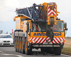 Mobile Crane Ainscough (SR Photos Torksey) Tags: road mobile truck crane transport lorry commercial vehicle freight logistics haulage hgv lgv ainscough