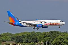 "G-GDFW Boeing 737-8K5 Jet2.com MAN 03-06-16 (PlanecrazyUK) Tags: egcc manchester man ringway ""manchester airport"" ggdfw boeing7378k5 jet2com 030616"
