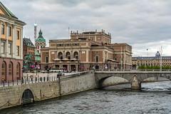 Kungliga Operan Stockholm (AdamTje) Tags: city bridge se nikon sweden stockholm photowalk scandinavia lightroom 2016 stockholmsln d7100