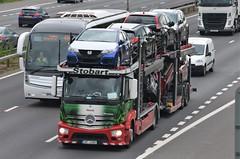 Stobart Automotive 'Veerle' (stavioni) Tags: car truck mercedes benz automotive lorry eddie trailer transporter esl 1315 actros stobart 3at4380