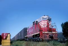 CB&Q GP7 243 (Chuck Zeiler) Tags: railroad burlington train locomotive naperville chz 243 emd cbq gp7