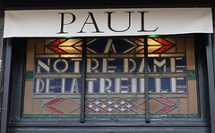 Paul, A Notre Dame de la Treille (shadow_in_the_water) Tags: france window shop paul baker stainedglass vitrail artdeco lille fentre shopfront boulangerie est1889 ptisseriefranaise 44ruelepelletier charlemagnemayot anotredamedelatreille