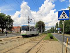 Tatra KT4DtM, #131, Tramwaje Szczeciskie (transport131) Tags: tram tramwaj tsz tramwaje szczeciskie szczecin zdzit tatra kt4dtm
