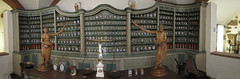 Pharmacy museum panorama (quinet) Tags: panorama berlin germany antique pharmacy pharmacie 2012 ancien antik castleroad apoteke burgenstrase