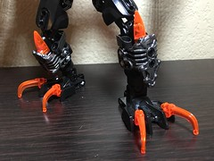 MOD: Lava Beast - 01 (stubs4limbs) Tags: bionicle ccbs stubs4limbs lego moc