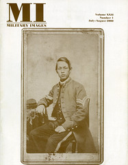Military Images magazine cover, July/August 2000 (militaryimages) Tags: history infantry mi america magazine soldier photography rebel us marine uniform photographer unitedstates military union navy archive confederate worldwari civilwar american weapon tintype ambrotype artillery stereoview cartedevisite sailor ruby veteran roach daguerreotype yankee cavalry neville spanishamericanwar albumen mexicanwar coddington backissue citizensoldier indianwar heavyartillery matcher findingaid militaryimages hardplate