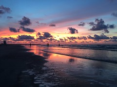 5-30-16 Sunrise (ThursdayGirl) Tags: galveston clouds sunrise pinkclouds