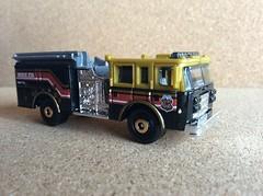 Matchbox # 56 Pierce Dash Fire Apparatus - Die Cast Metal Miniature Scale Model Emergency Services Vehicle (firehouse.ie) Tags: pierce fireengine matchbox diecast piercedash