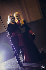 DSCF6701 - EDIT (Cat&Crown) Tags: london expo cosplay dante naruto comicon excel scythe mcm akatsuki cetre hidan